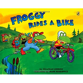 Set A Shopping Price Drop Alert For Froggy Rides a Bike