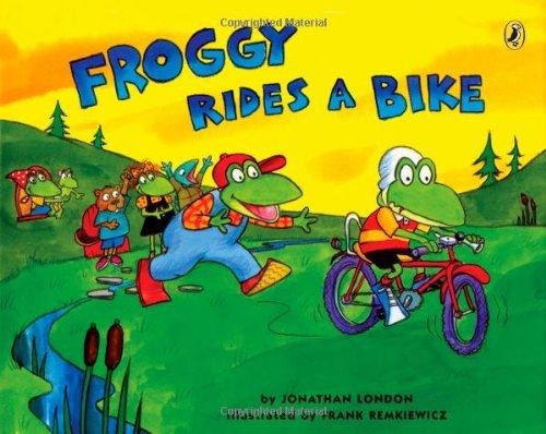 Froggy Rides a Bike (Froggy (Paperback))