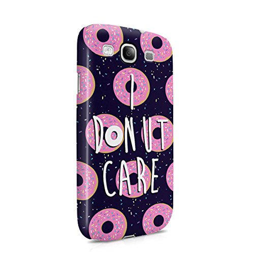 I Donut Care Donuts Pattern Tumblr Hard Plastic Case Cover For Samsung Galaxy S3