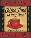 Coffee Time is Any Time by Lewis, Kim - Fine Art Print on PAPER : 8 x 10 Inches