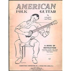 american folk guitar a book of