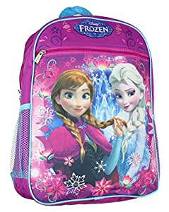 "Disney Frozen Princess Elsa And Anna 15"" School Backpack"