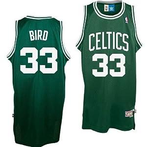 Larry Bird Hardwood Classics Swingman Jersey - Boston Celtics Jerseys 3XL by adidas