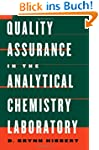 Quality Assurance in the Analytical C...