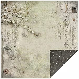 """Rustic Double-Sided Paper 12""""X12""""-Fly"""