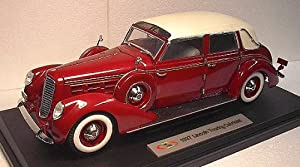 1/18 Signature 1937 Lincoln Touring Cabriolet