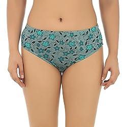 Gujarish Alluring Blue Cotton Panties