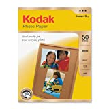KODAK Photo Paper for Inkjet Prints/Gloss, 8.5in x 11in - 50 sheets