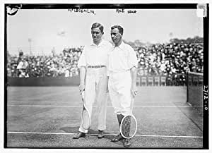 Photo: American tennis player,Maurice McLoughlin,Horace M. Rice tennis,June 6,1913