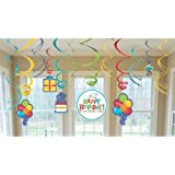 Birthday Fever Swirl Decorations