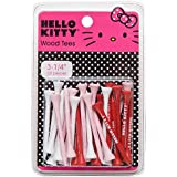 Hello Kitty Golf 30-Piece Wood Tee (3-1/4-Inch)