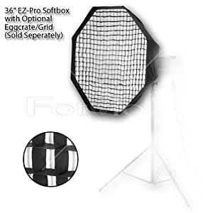 "Fotodiox Pro Studio Solutions EZ-Pro 36"" Octagon Softbox for Bowens Gemini Standard/ Classica Powerpack and Pro Series"