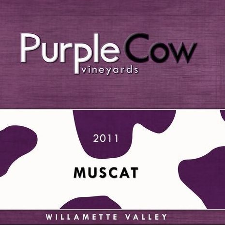 2011 Purple Cow Vineyards Muscat (Off Dry) 750 Ml