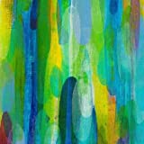 Innerspace 41 by Grogan, Maeve - Fine Art Print on CANVAS : 24 x 24 Inches