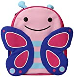 Skip Hop Zoo Lunchie, Pink Butterfly, 3 Years Plus