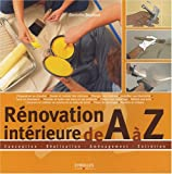 Rnovation intrieure de A  Z
