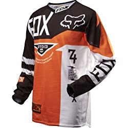 Fox Racing 360 Machina Youth Boys MotoX Motorcycle Jersey - Orange