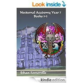 Nocturnal Academy Omnibus - Books 1-3