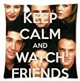 Paradise Life Design Popular Hot TV Show Friends Custom Zippered Nice Decorative Pillow Cases 18