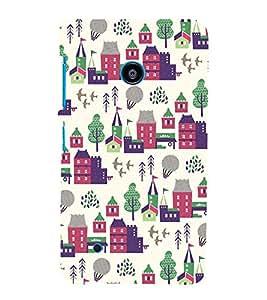 City Tree Greenery 3D Hard Polycarbonate Designer Back Case Cover for Nokia Lumia 530 :: Microsoft Lumia 530