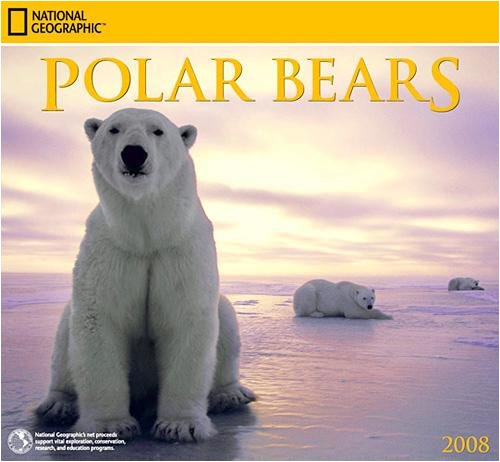 Polar Bears National Geographic 2008 Wall Calendar - Buy Polar Bears National Geographic 2008 Wall Calendar - Purchase Polar Bears National Geographic 2008 Wall Calendar (Zebra Studios, Office Products, Categories, Office & School Supplies, Calendars Planners & Personal Organizers, Wall Calendars)