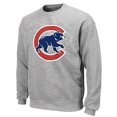 Chicago Cubs Grey Crew Neck Sweatshirt by Stitches