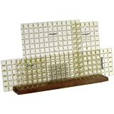 "Omnigrid Wood Ruler Rack-20""X4""X3/4"""