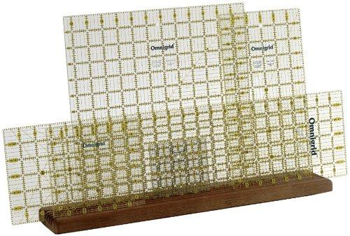 Omnigrid Wooden Ruler Rack