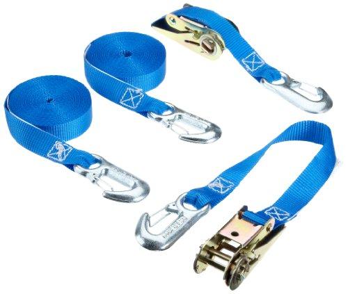 Braun-400-2-6001070VE2-Spanngurt-800-daN-6-m-x-25-mm-mit-Ratsche-und-Spitzhaken-2-Stck-blau