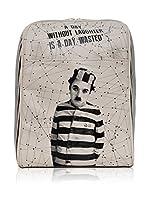 DOGO Mochila C.Chaplin (Gris Claro)