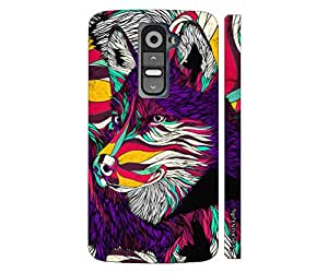 LG G2 Mini What does the fox say? designer mobile hard shell case by Enthopia