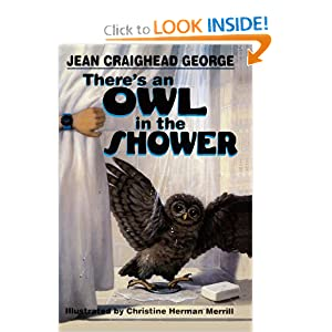 There's An Owl In The Shower (Turtleback School &amp; Library Binding Edition)