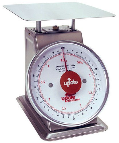 International Update UPS-9100 9 po cadran en acier inoxydable -chelle - 100