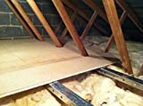 Loft flooring system: LoftZone StoreFloor 3m2 kit (without boards) for an easy-to-fit and strong deck above your insulation