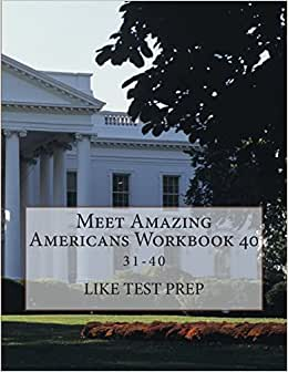 Meet Amazing Americans Workbook 40 (Meet Amazing Americans Workbook 10) (Volume 4) e-book