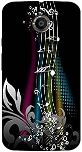 Timpax Light Weight Hard Back Case Cover Printed Design : Tunes of life.Precisely Design For : Motorola Moto X-2 ( 2nd Gen )