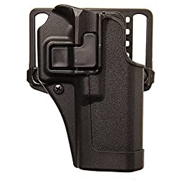 BLACKHAWK! 410565BK-R CQC Concealment Serpa Holster for Springfield Armory XDS 3.3\