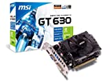 MSI Nvidia GeForce GT630 Graphics Card 810MHz (4GB) PCI Express DVI HDMI VGA