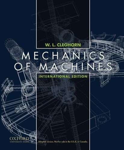 Mechanics of Machines, International Student Edition