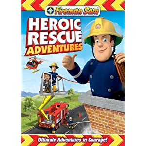 Fireman Sam: Heroic Rescue Adventures DVD