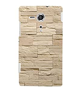 EPICCASE Neat wall Mobile Back Case Cover For Sony Xperia SP (Designer Case)