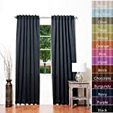 Solid Thermal Insulated Blackout Curtain 84