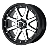 XD Series Addict (Series XD798) Matte Black Machined - 17 x 9 Inch Wheel