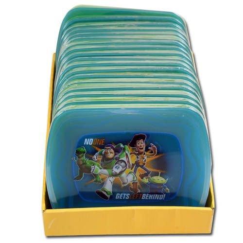 4pk Disney Toy Story 3 Plastic Plates - 1