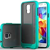Galaxy S5 Case, Caseology [Sheer Grip] Samsung Galaxy S5 Case [Turquoise Mint] Slim Fit Skin Cover [Shock Absorbent] Armor Bumper Galaxy S5 Case [Made in Korea] (for Samsung Galaxy S5 Verizon, AT&T Sprint, T-mobile, Unlocked)