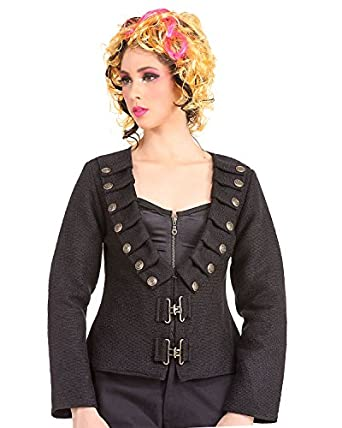 Steampunk Jackets Steampunk Victorian Gothic Womens Costume Military Jacket  AT vintagedancer.com