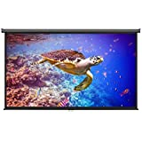 VonHaus 100-inch Widescreen Projector Screen Manual Pull Down Home Theater Cinema Or Presentation Platform - 16...