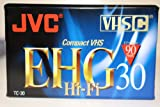 10 Pack! JVC Video Tapes 90min. TC-30 EHG