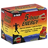 5-Hour Energy Energy Shot, Pomegranate, 6 ct.