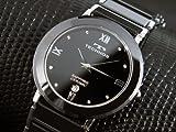 テクノス TECHNOS メンズ セラミック 腕時計 人気 ブランド 男性用 時計 おしゃれ かっこいい 男性 ウォッチ プレゼント ギフト にも[並行輸入品]